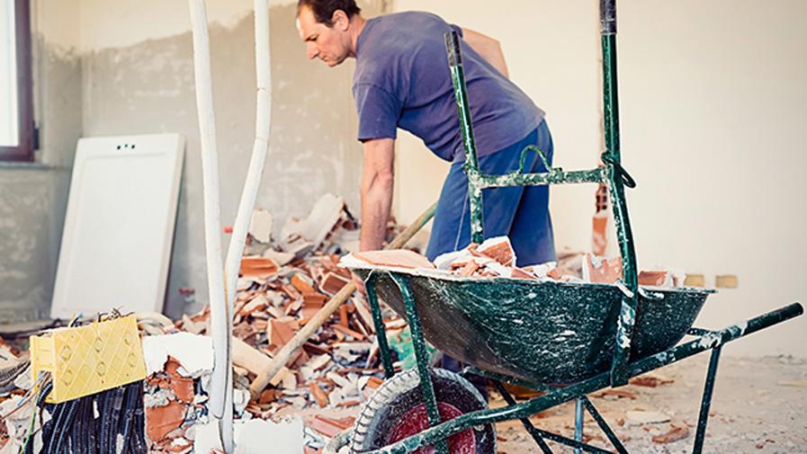 gestion coût déchets bâtiment