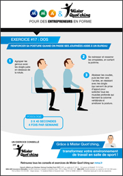 fiche exercice renforcer sa posture